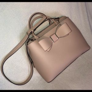 Betsey Johnson Light Pink Faux Leather Tote NWOT